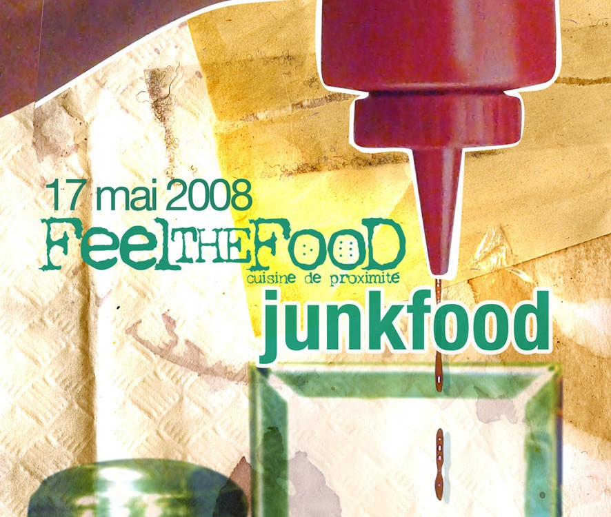 affiche junkfood by atelier visuel