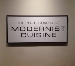 Photographies de Modernist Cuisine @MOS Boston