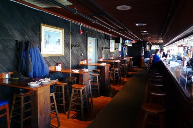 La salle du Boston Sail Loft Restaurant