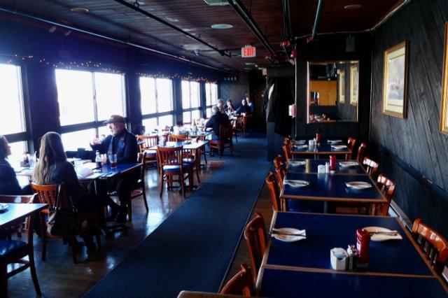 Salle à manger du Boston Sail Loft Restaurant