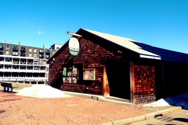 L'entrée du Boston Sail Loft Restaurant