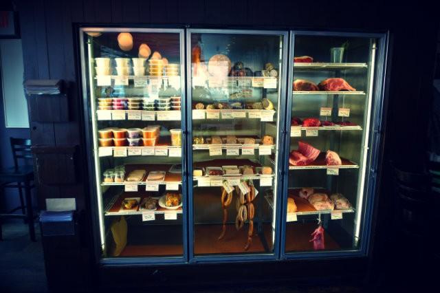 l'armoire à viande