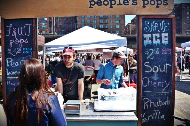 people's pops @smorgasburg