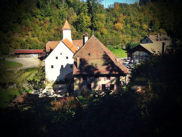 L'auberge de l'Abbaye de Montheron