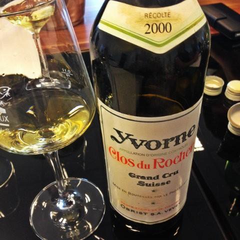 Clos du Rocher Grand Cru, 2000, Yvorne